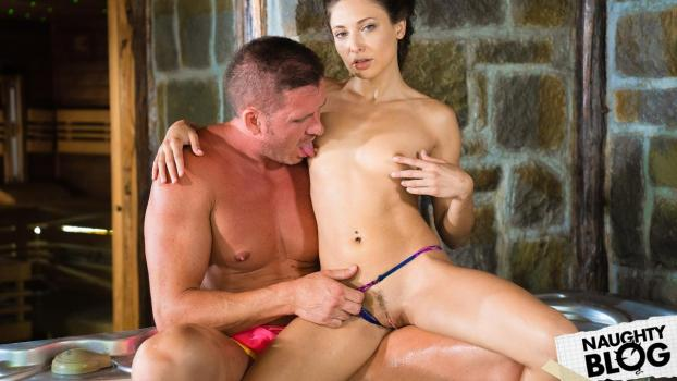 DaneJones – Talia Mint – Cheating Husband Risky Hot Tub Fuck