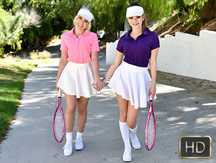 StepSiblings – Athena Faris, Allie Nicole – Stepsister Tennis Sex