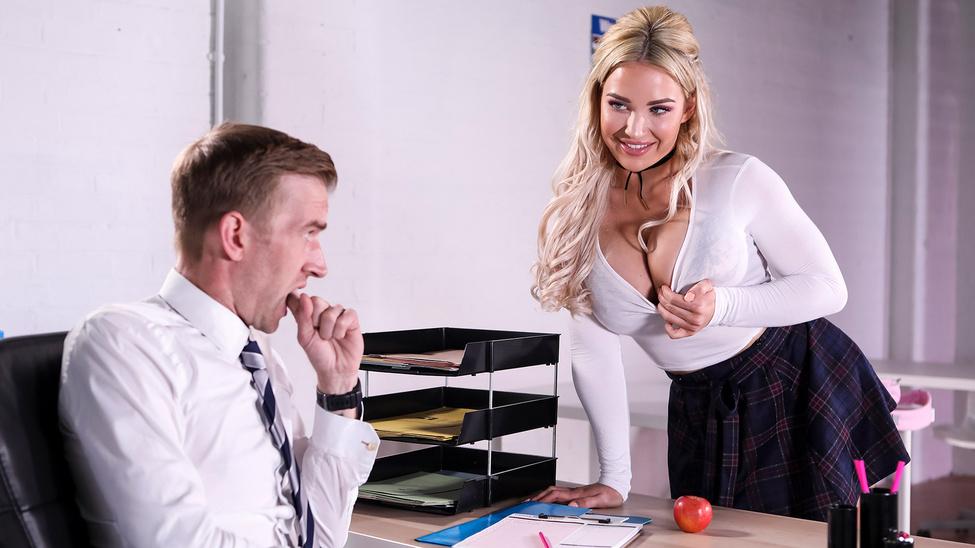 BigTitsAtSchool – Amber Jade – Teachers Pet