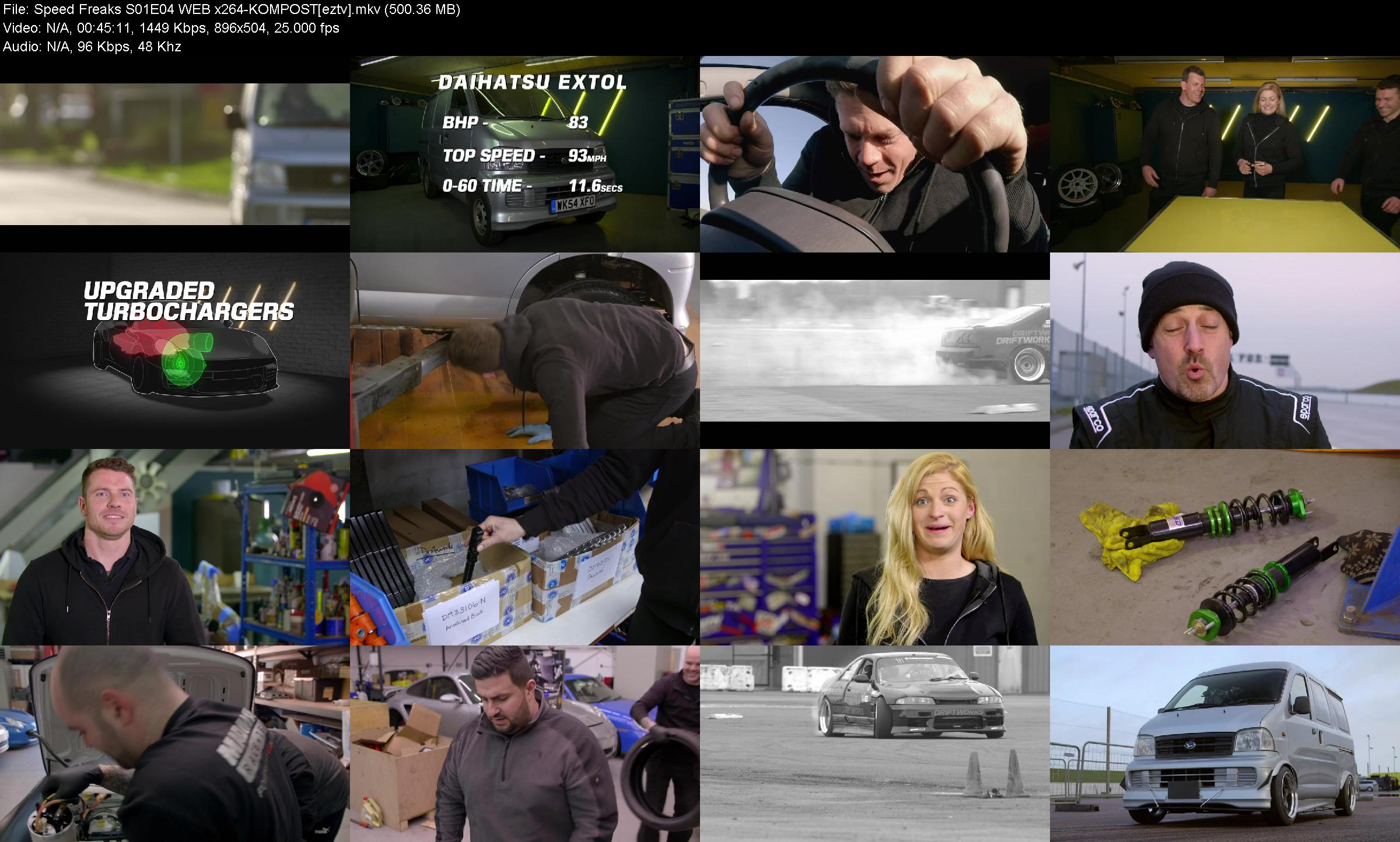 Speed Freaks S01e04 Web X264 kompost