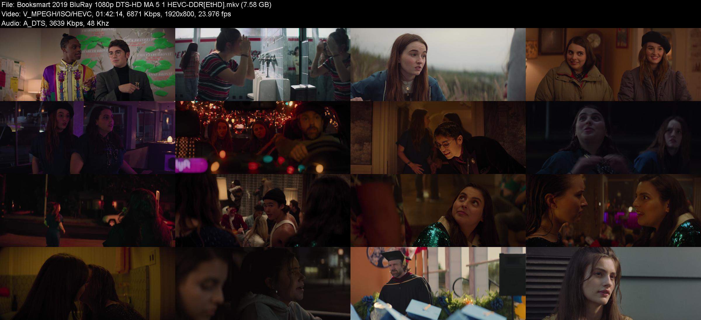 Booksmart 2019 BluRay 1080p DTS-HD MA 5 1 HEVC-DDR