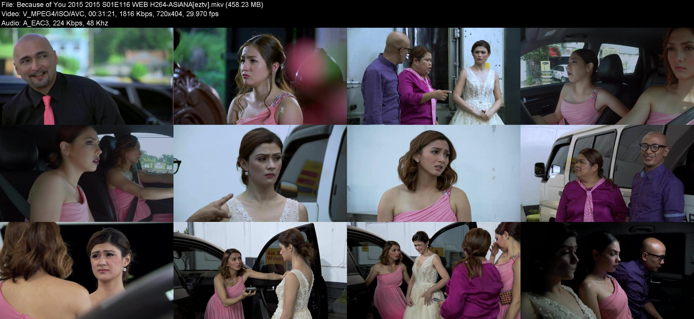 Because of You 2015 2015 S01E116 WEB H264-ASiANA