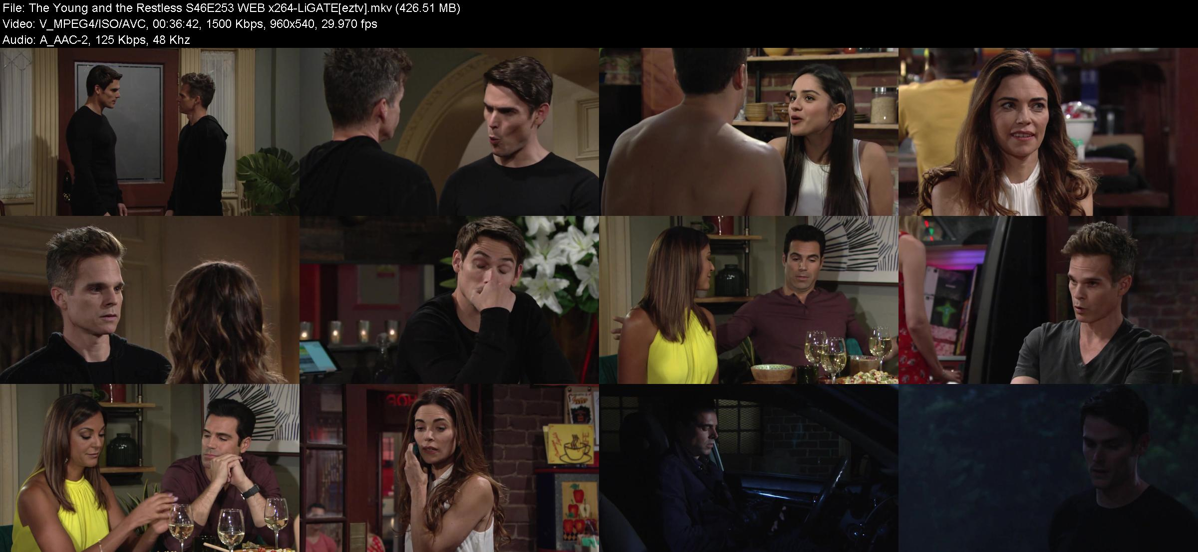 The Young and the Restless S46E253 WEB x264-LiGATE