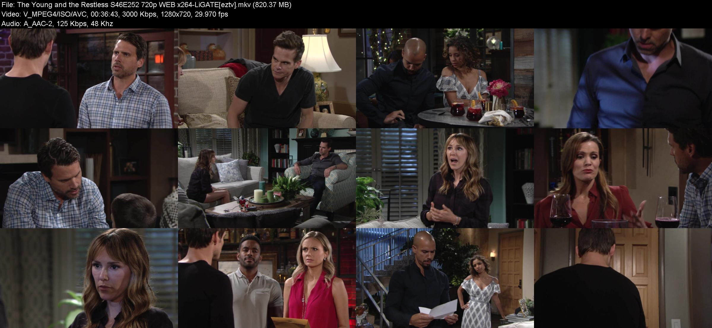 The Young and the Restless S46E252 720p WEB x264-LiGATE