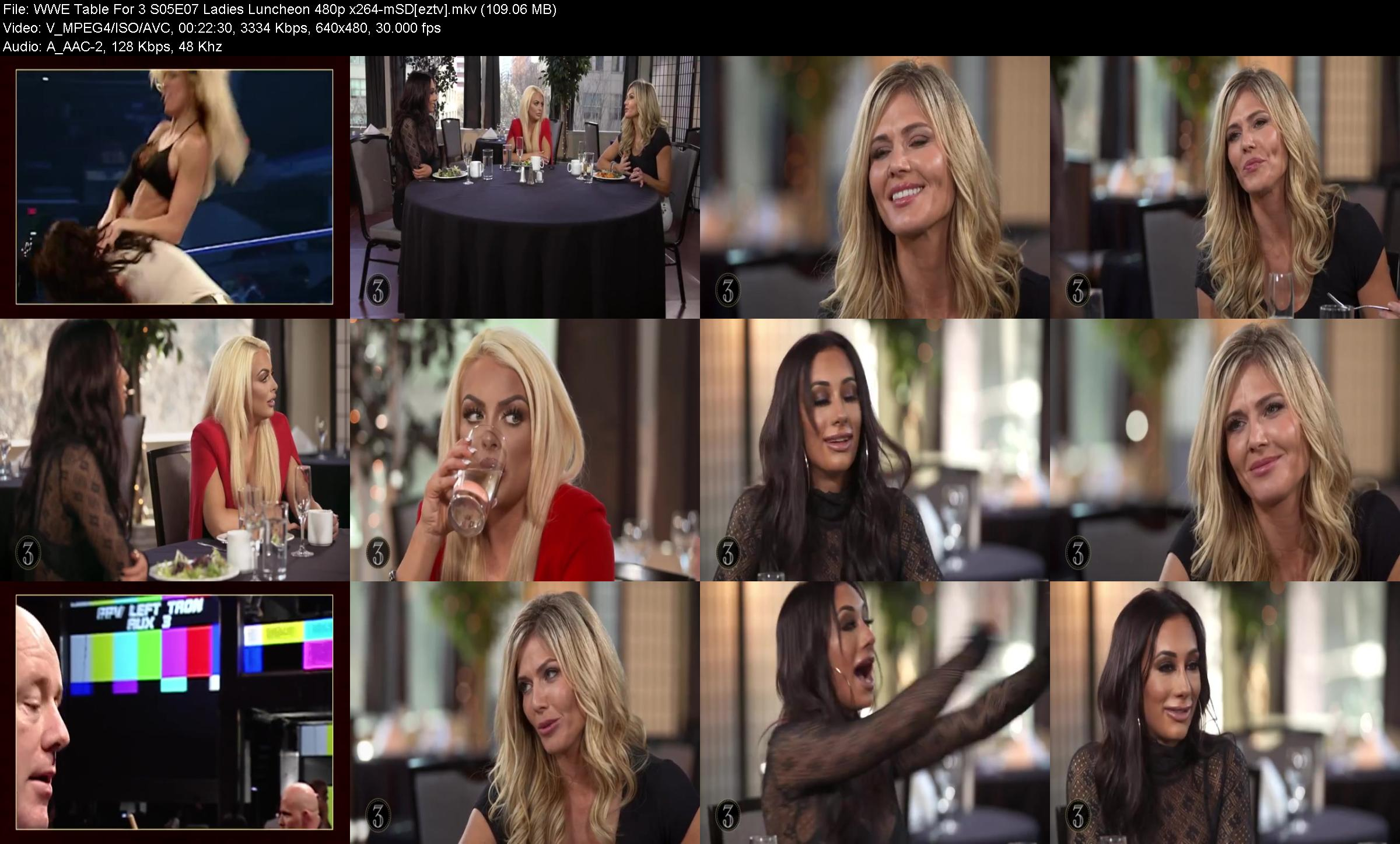 WWE Table For 3 S05E07 Ladies Luncheon 480p x264-mSD