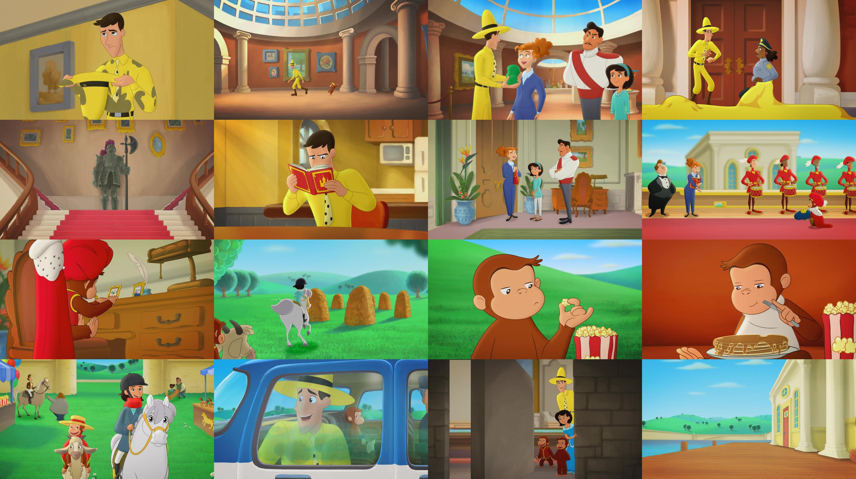 Curious George Royal Monkey 2019 720p WEB DL XviD AC3 FGT