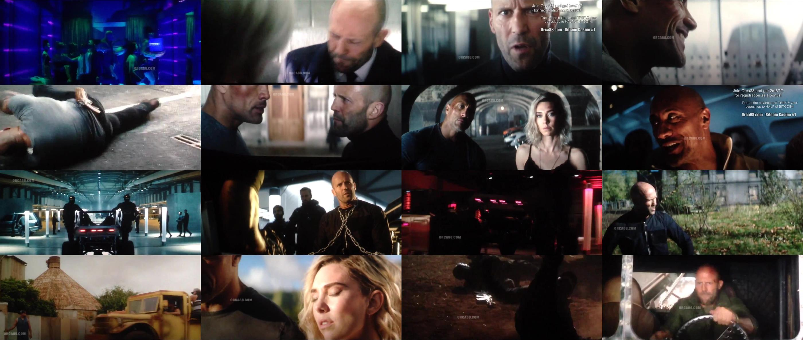 Fast and Furious Presents Hobbs and Shaw 2019 720p HDTS 900MB orca88 x264 BONSAI