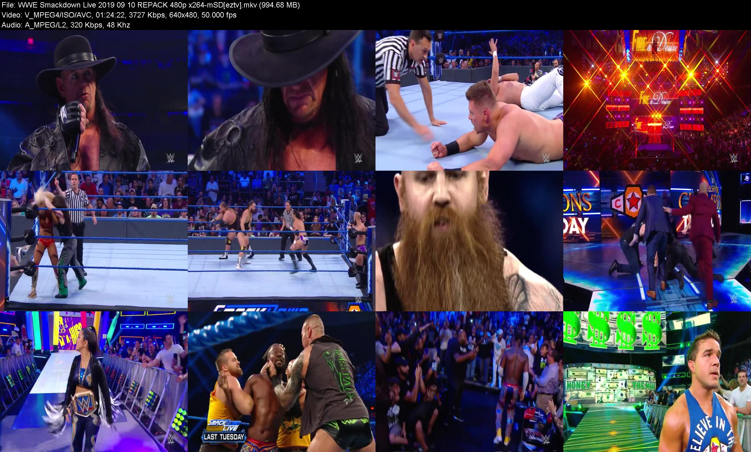 WWE Smackdown Live 2019 09 10 REPACK 480p x264-mSD