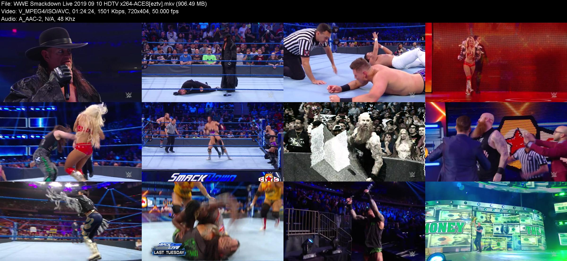 WWE Smackdown Live 2019 09 10 HDTV x264-ACES