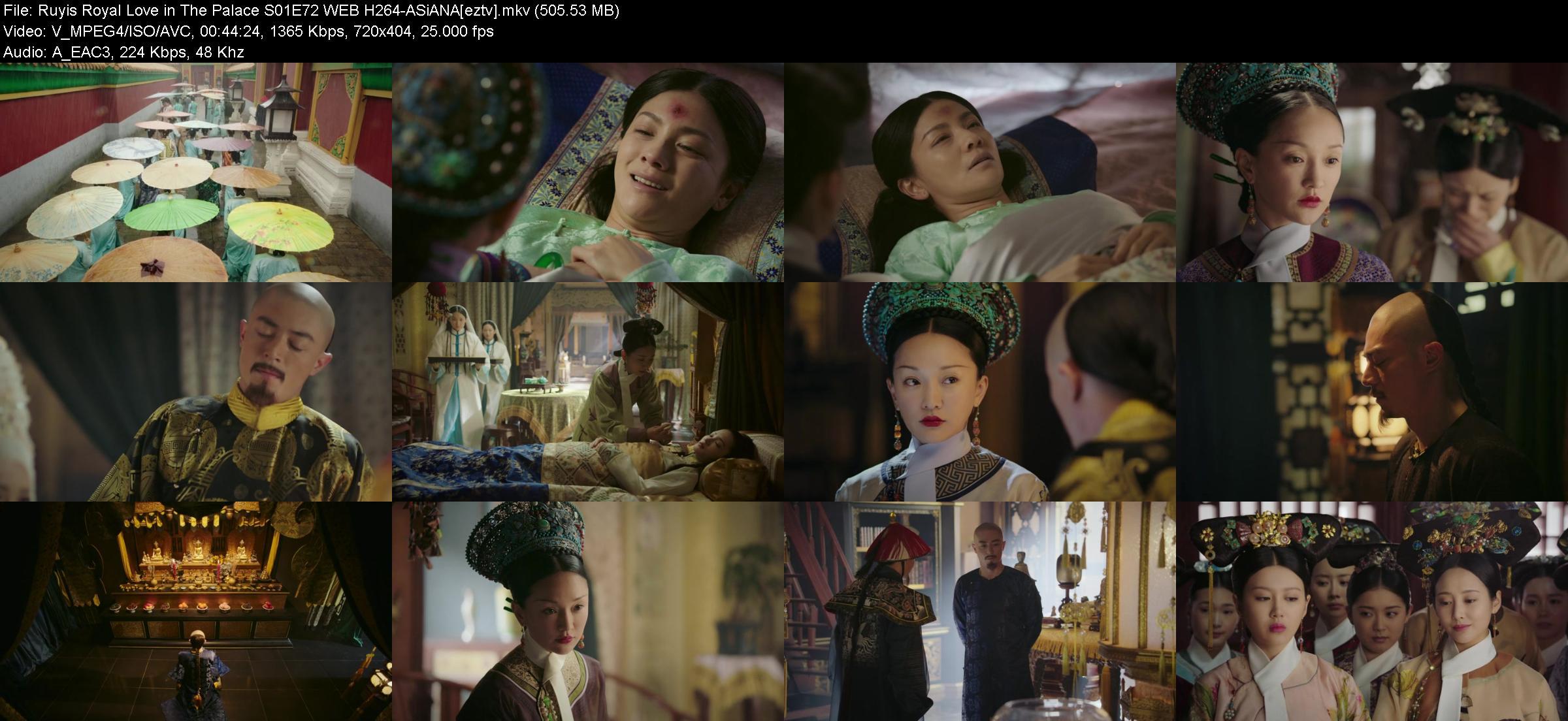 Ruyis Royal Love in The Palace S01E72 WEB H264 ASiANA