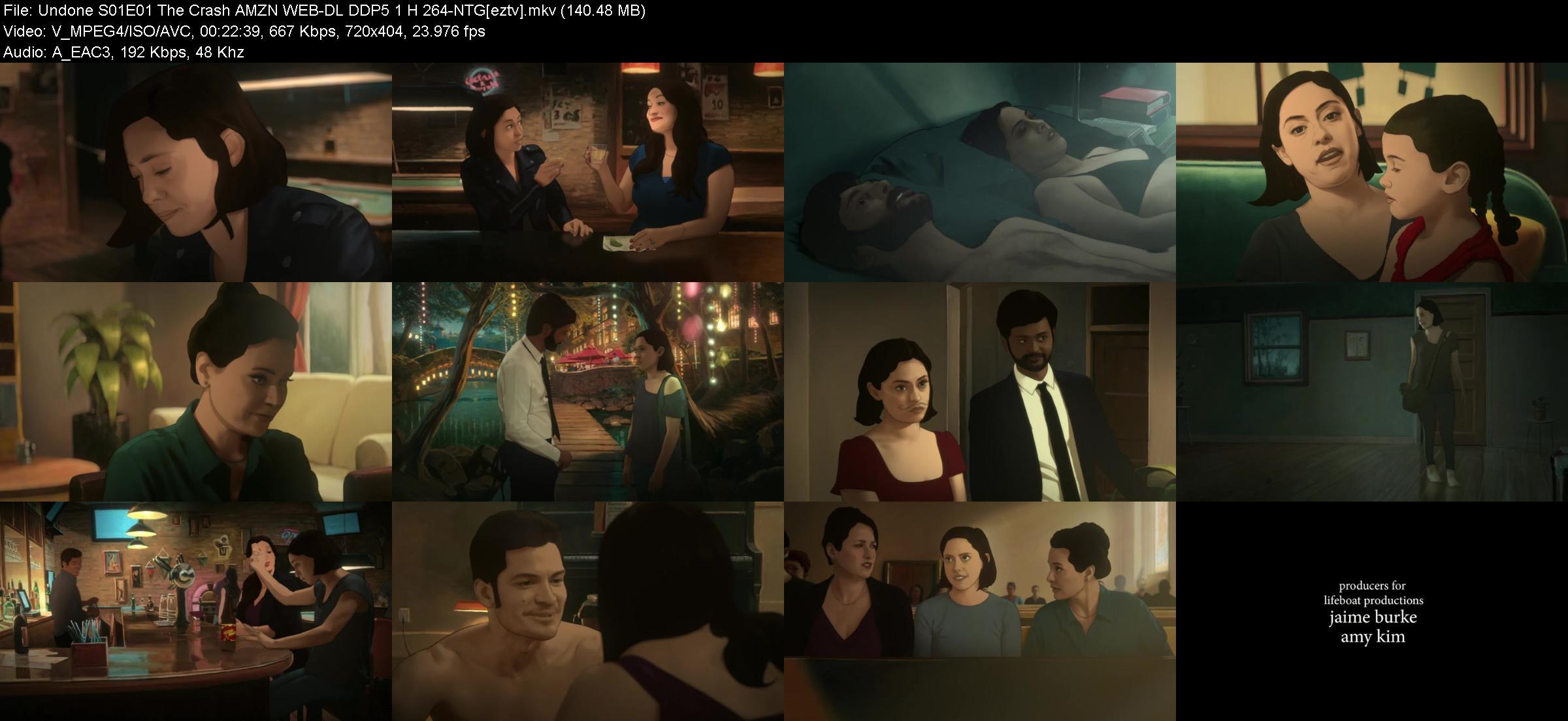 Undone S01E01 The Crash AMZN WEB-DL DDP5 1 H 264-NTG