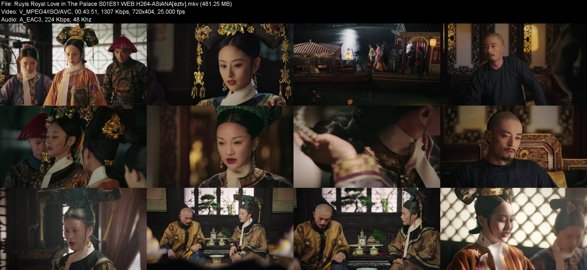 Ruyis Royal Love in The Palace S01E81 WEB H264-ASiANA
