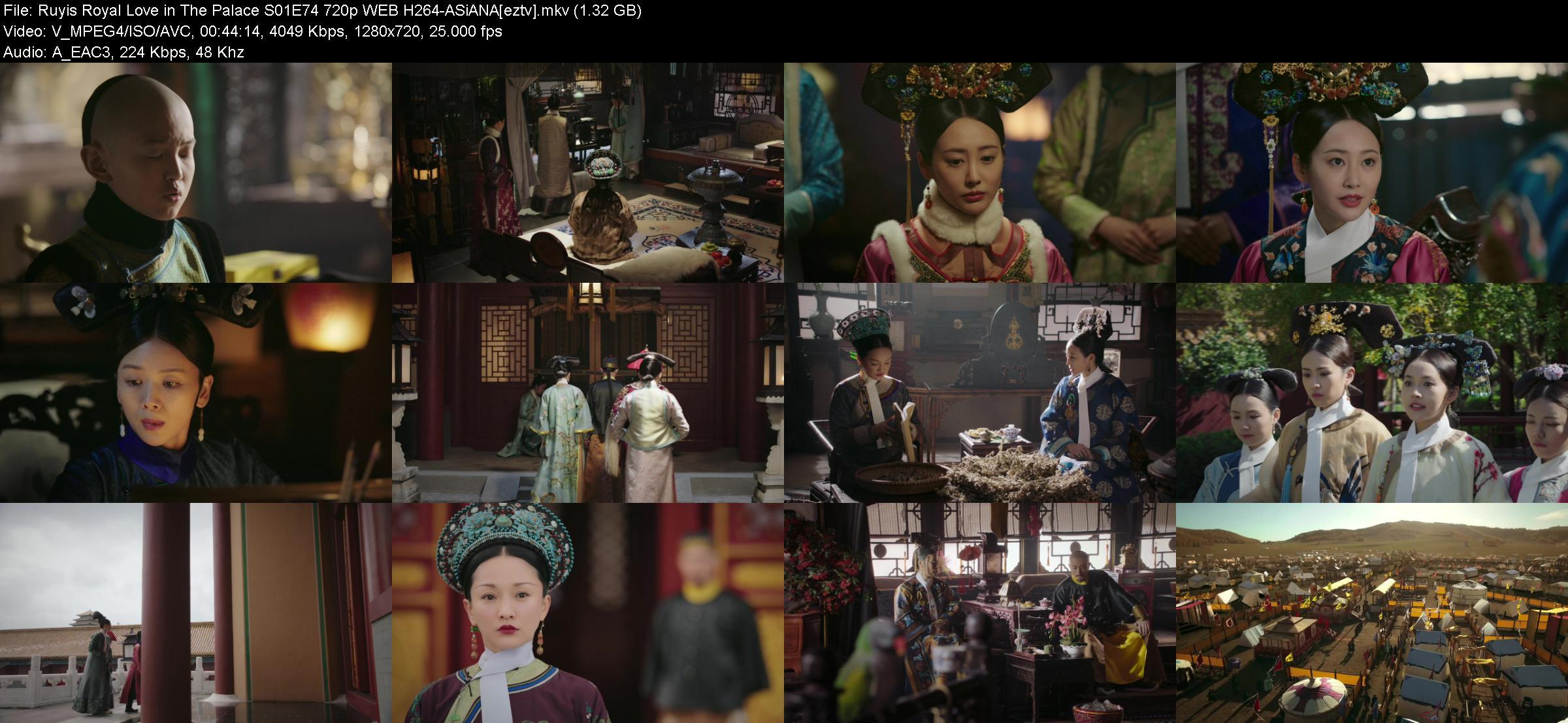 Ruyis Royal Love in The Palace S01E74 720p WEB H264-ASiANA