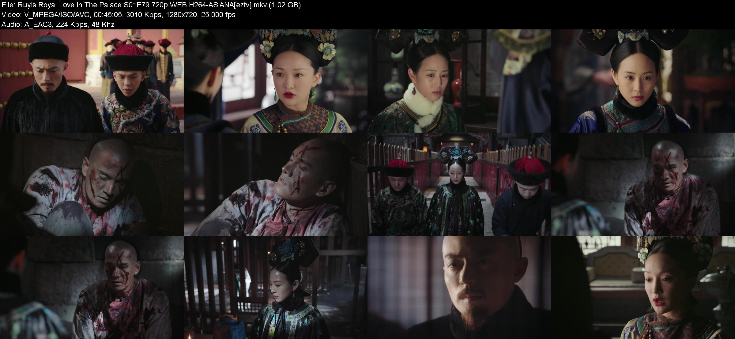 Ruyis Royal Love in The Palace S01E79 720p WEB H264-ASiANA