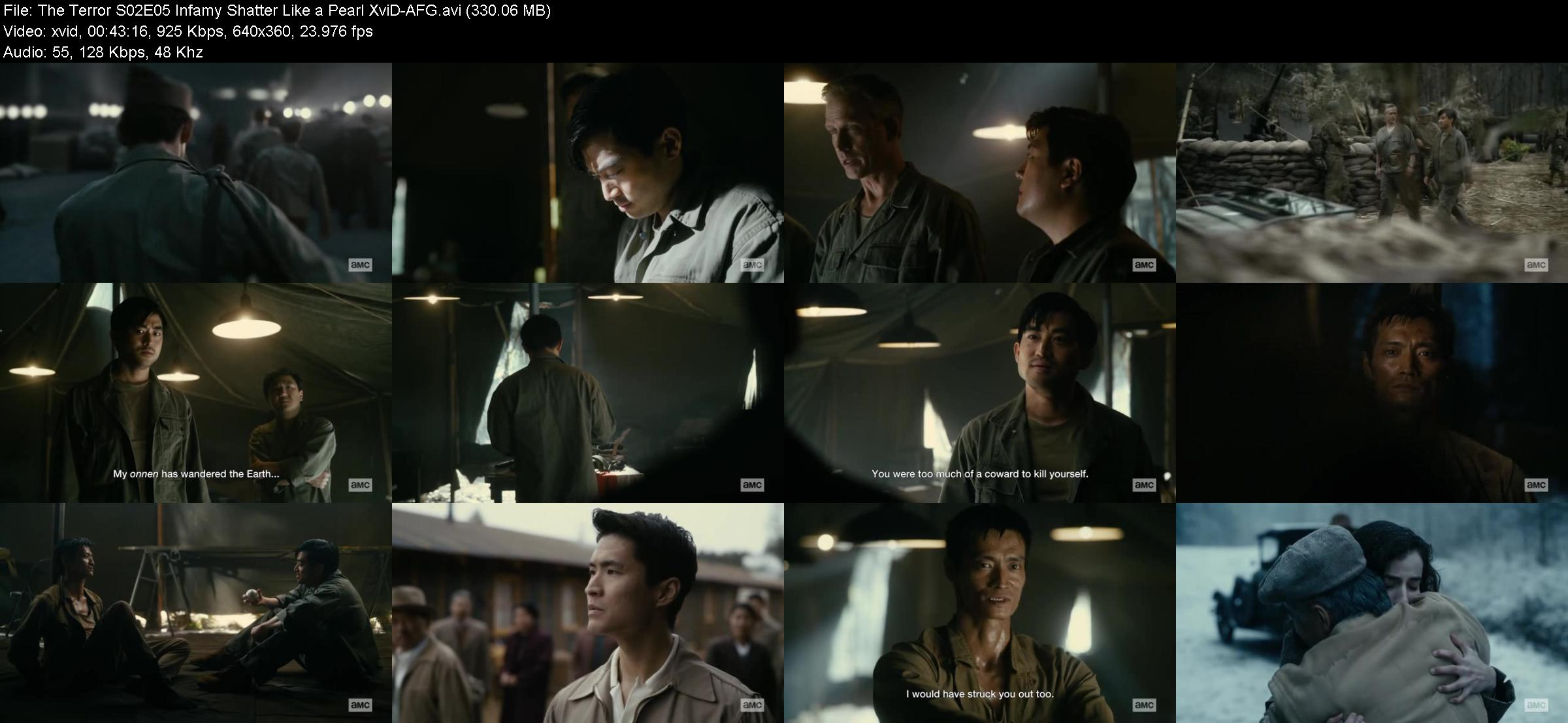 The Terror S02E05 Infamy Shatter Like a Pearl XviD-AFG