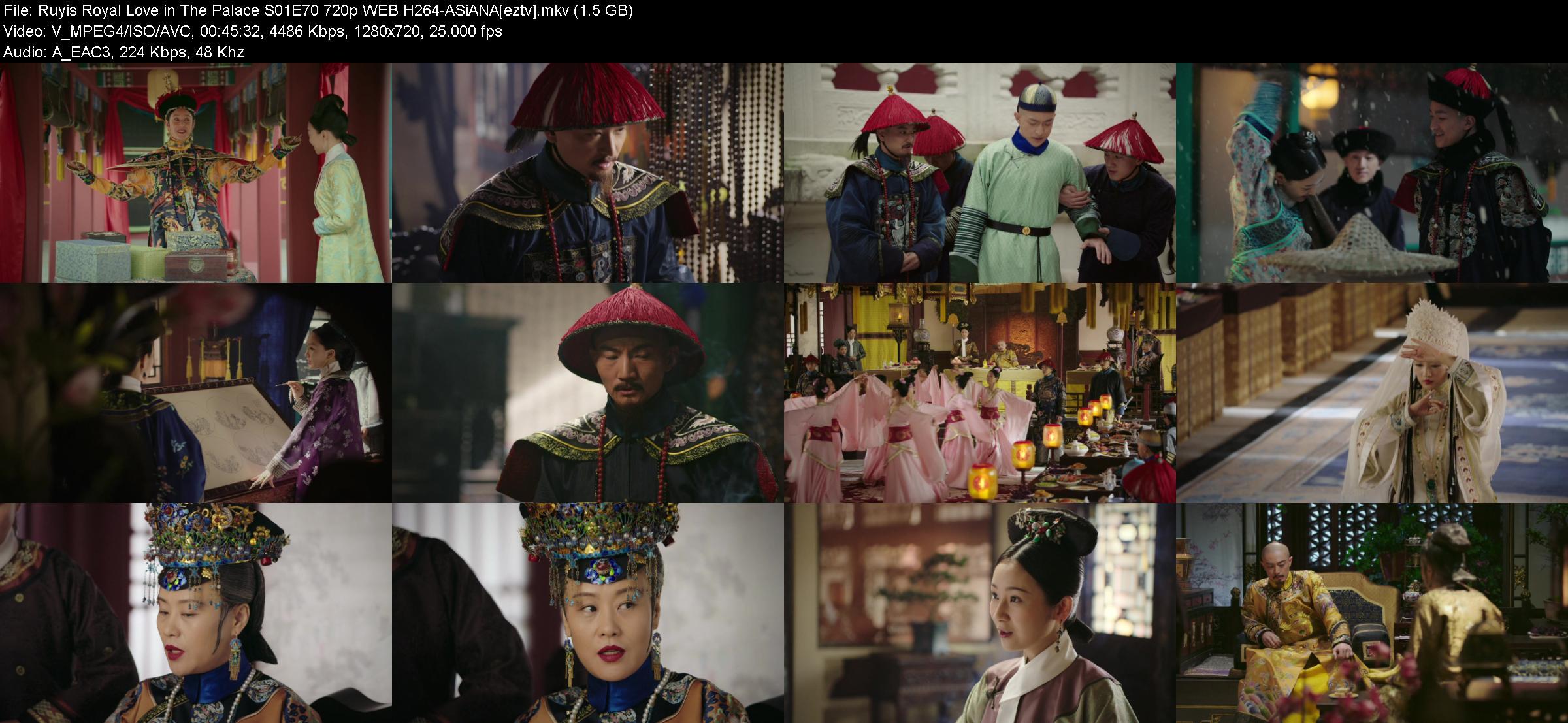 Ruyis Royal Love in The Palace S01E70 720p WEB H264-ASiANA