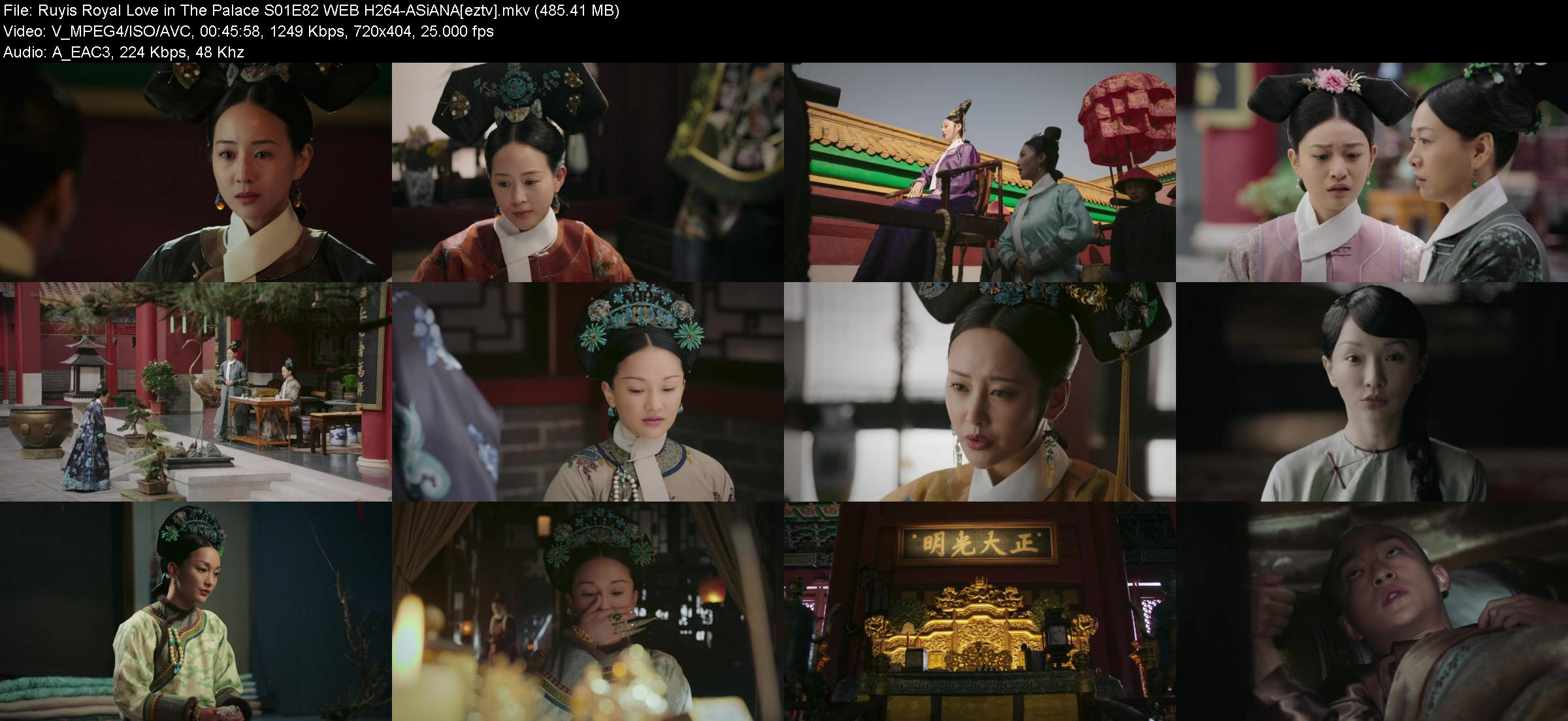 Ruyis Royal Love in The Palace S01E82 WEB H264-ASiANA