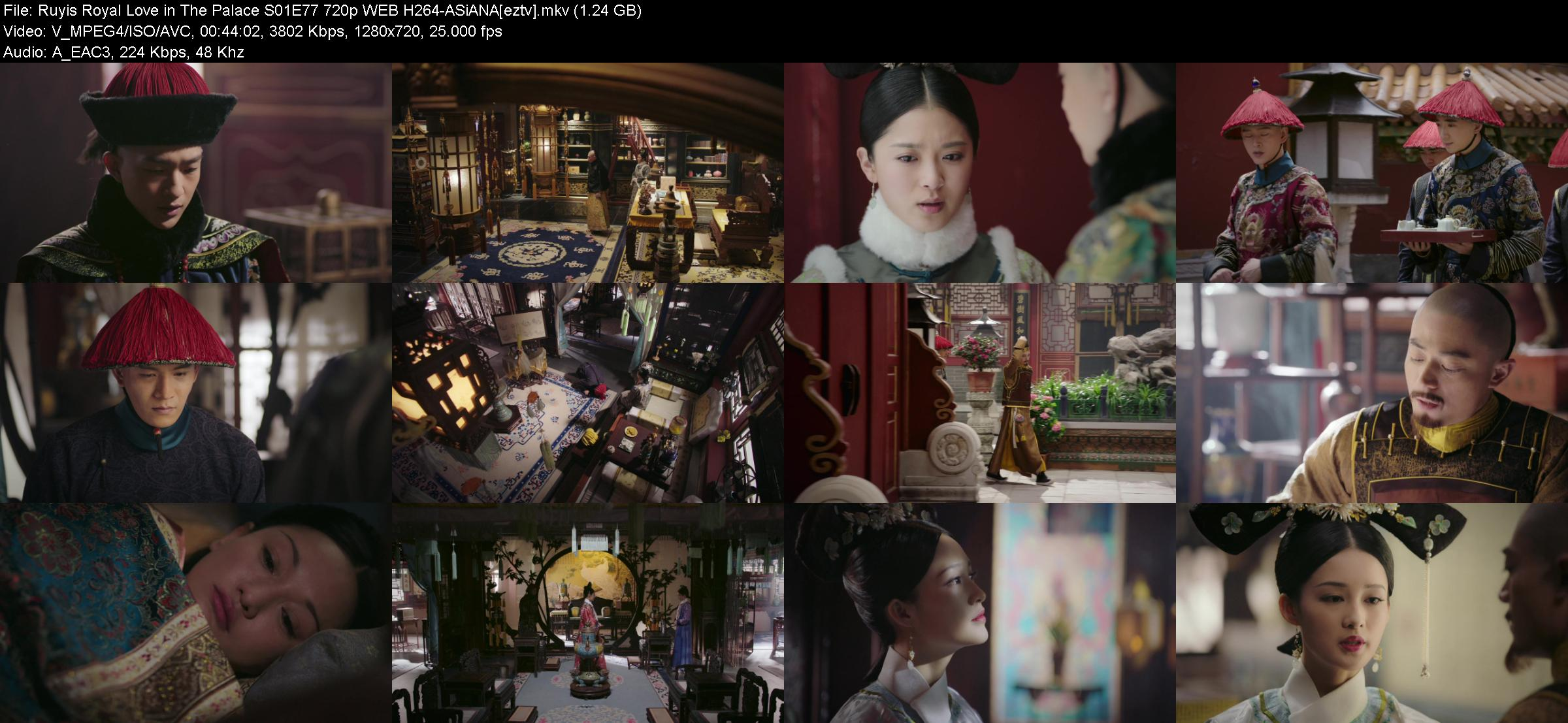 Ruyis Royal Love in The Palace S01E77 720p WEB H264-ASiANA