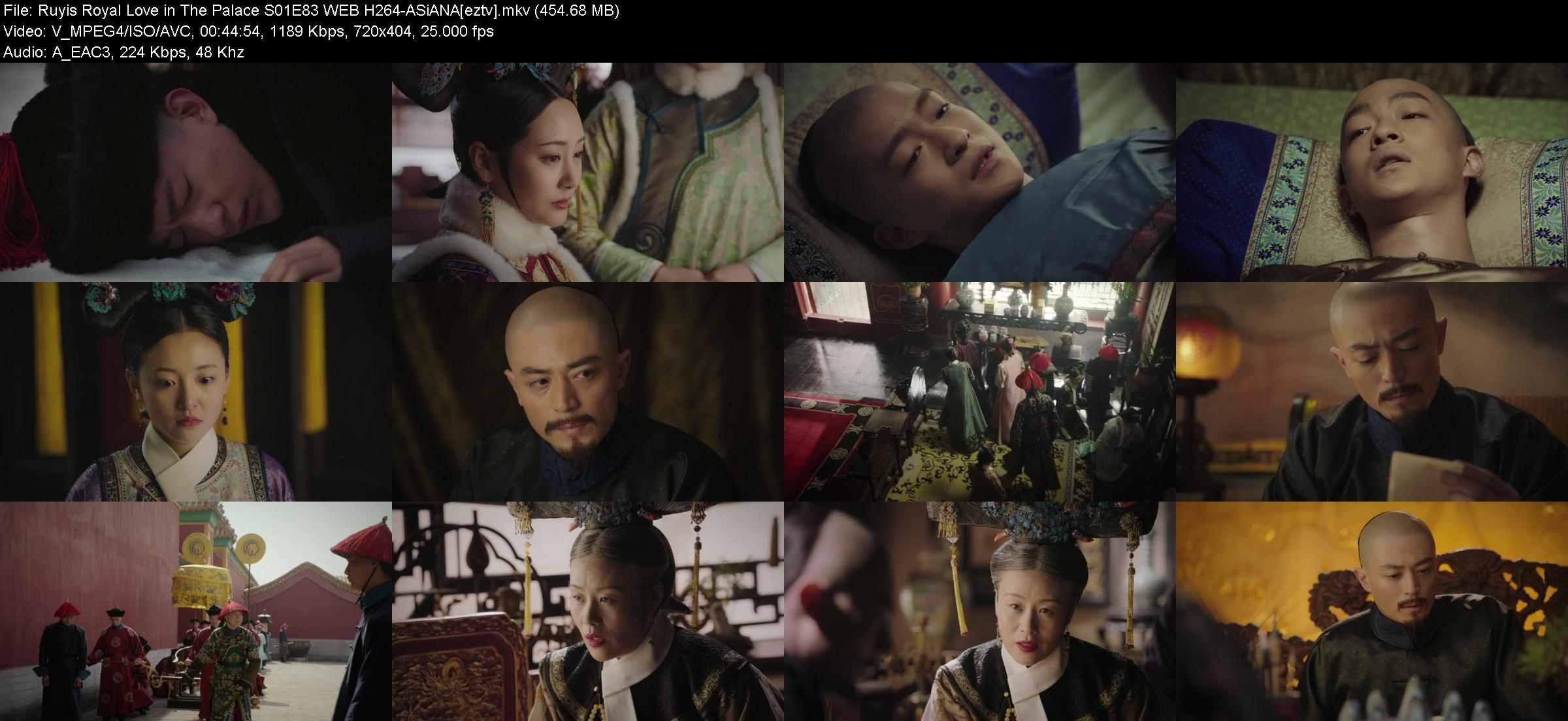 Ruyis Royal Love in The Palace S01E83 WEB H264-ASiANA