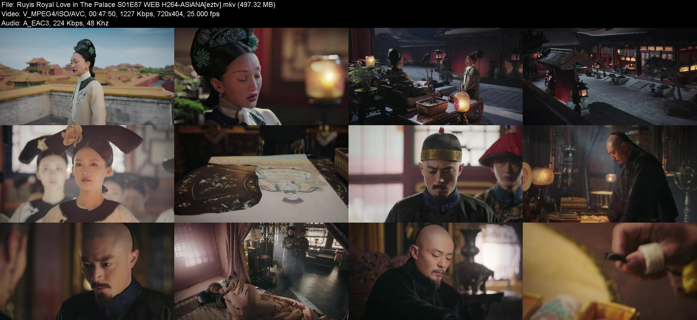 Ruyis Royal Love in The Palace S01E87 WEB H264-ASiANA