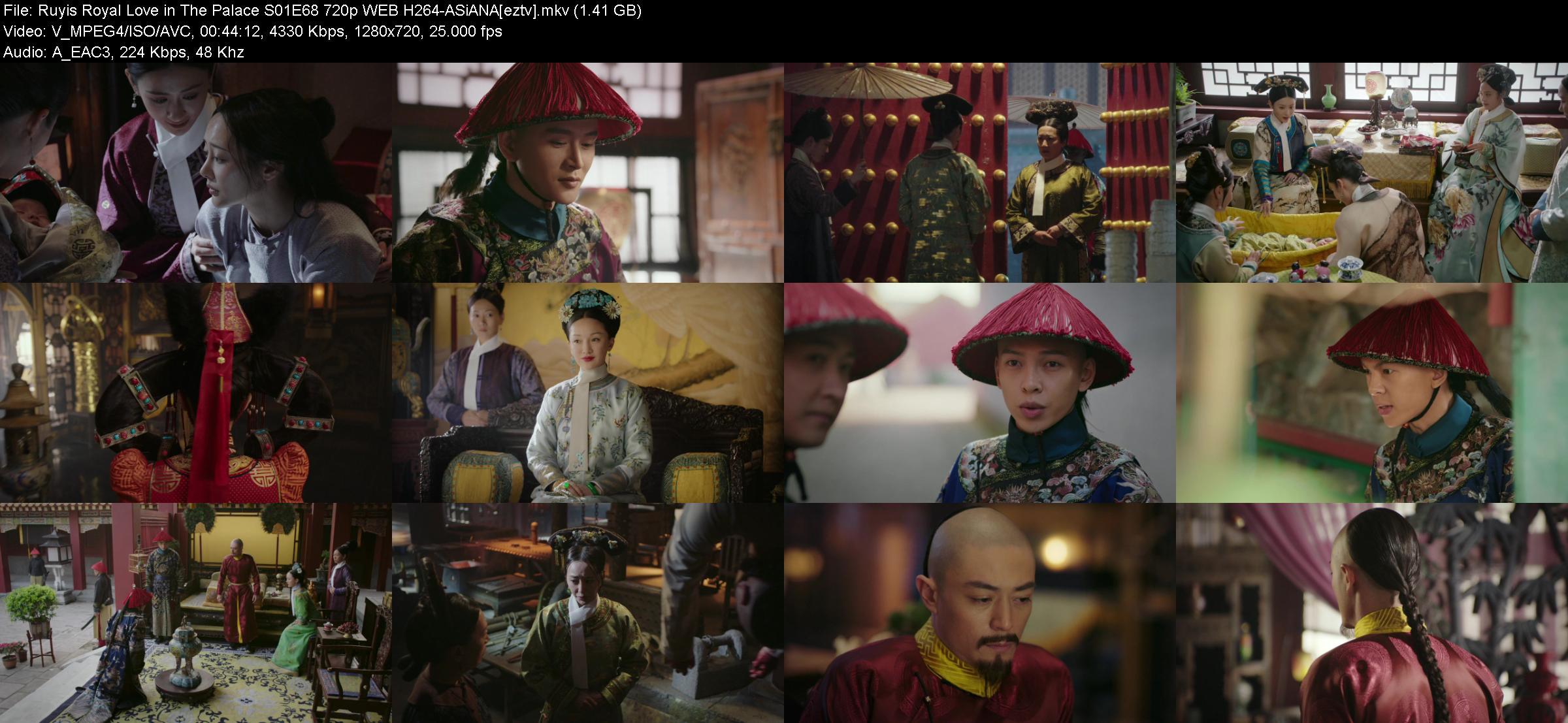 Ruyis Royal Love in The Palace S01E68 720p WEB H264-ASiANA