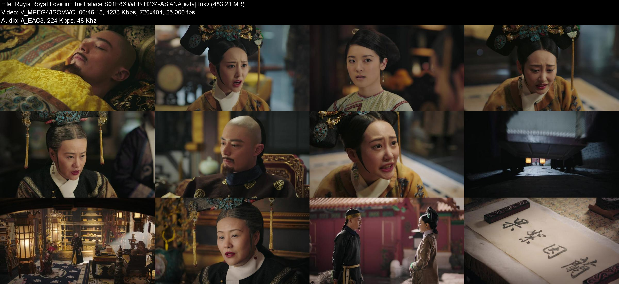 Ruyis Royal Love in The Palace S01E86 WEB H264-ASiANA