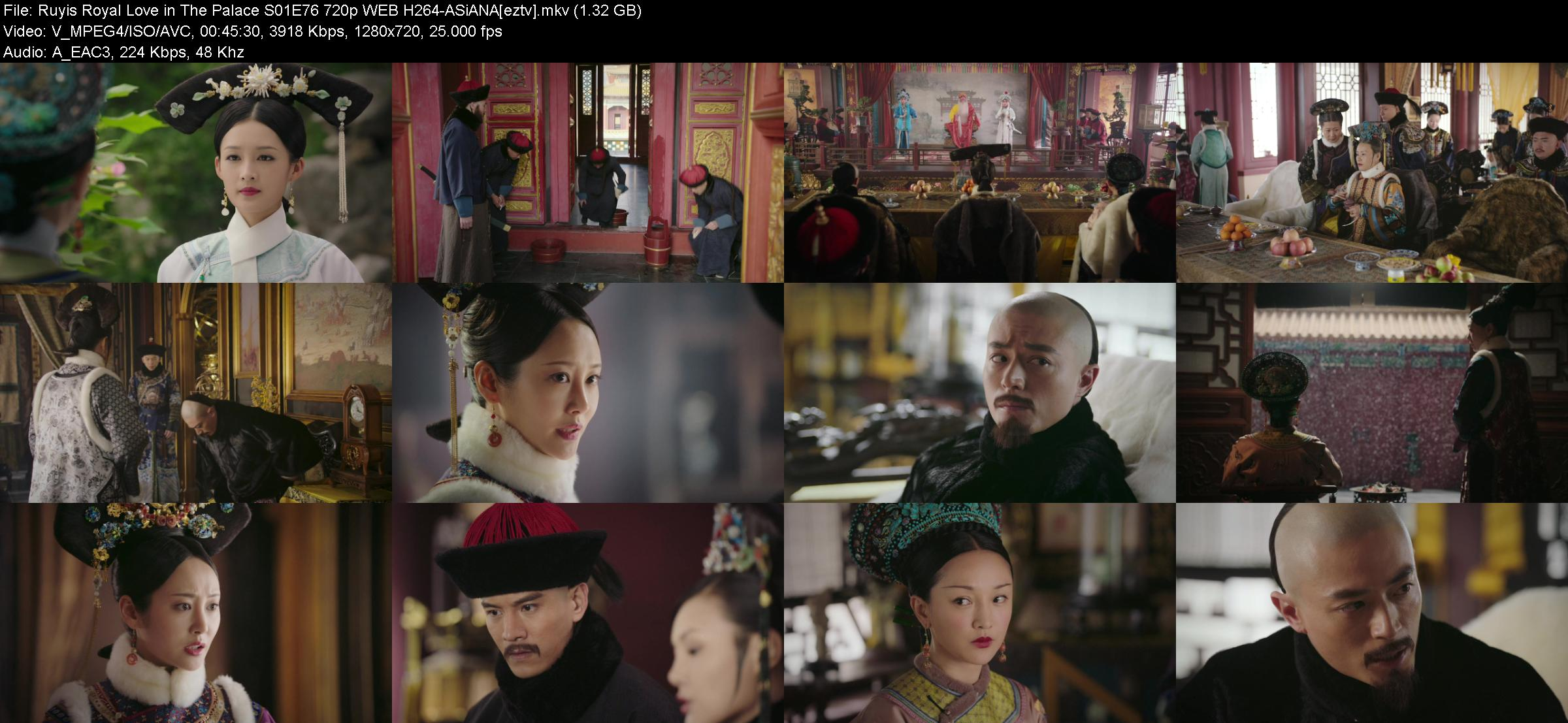 Ruyis Royal Love in The Palace S01E76 720p WEB H264-ASiANA