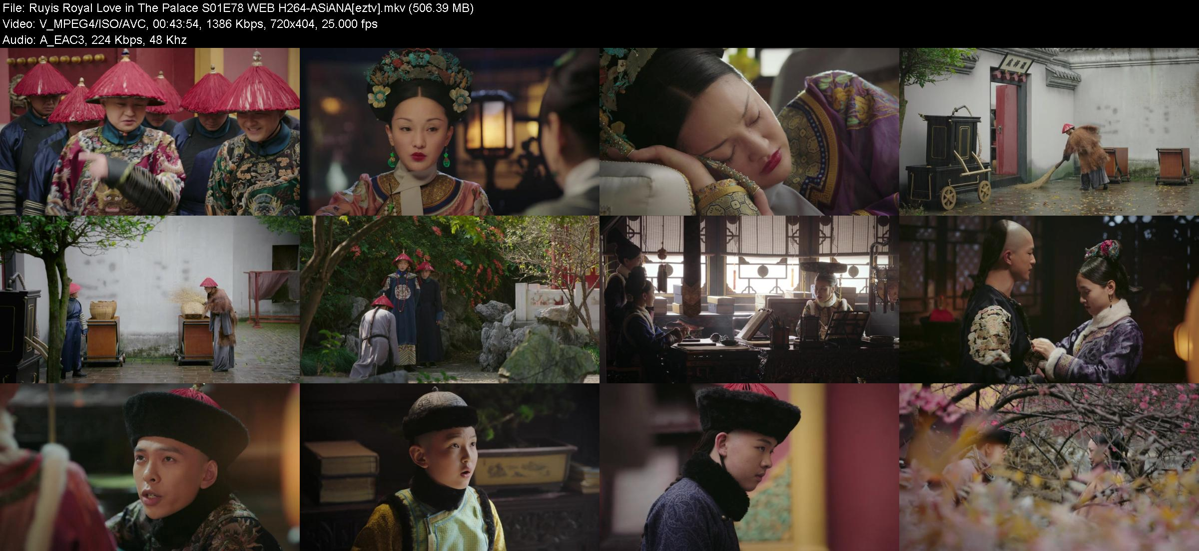 Ruyis Royal Love in The Palace S01E78 WEB H264-ASiANA