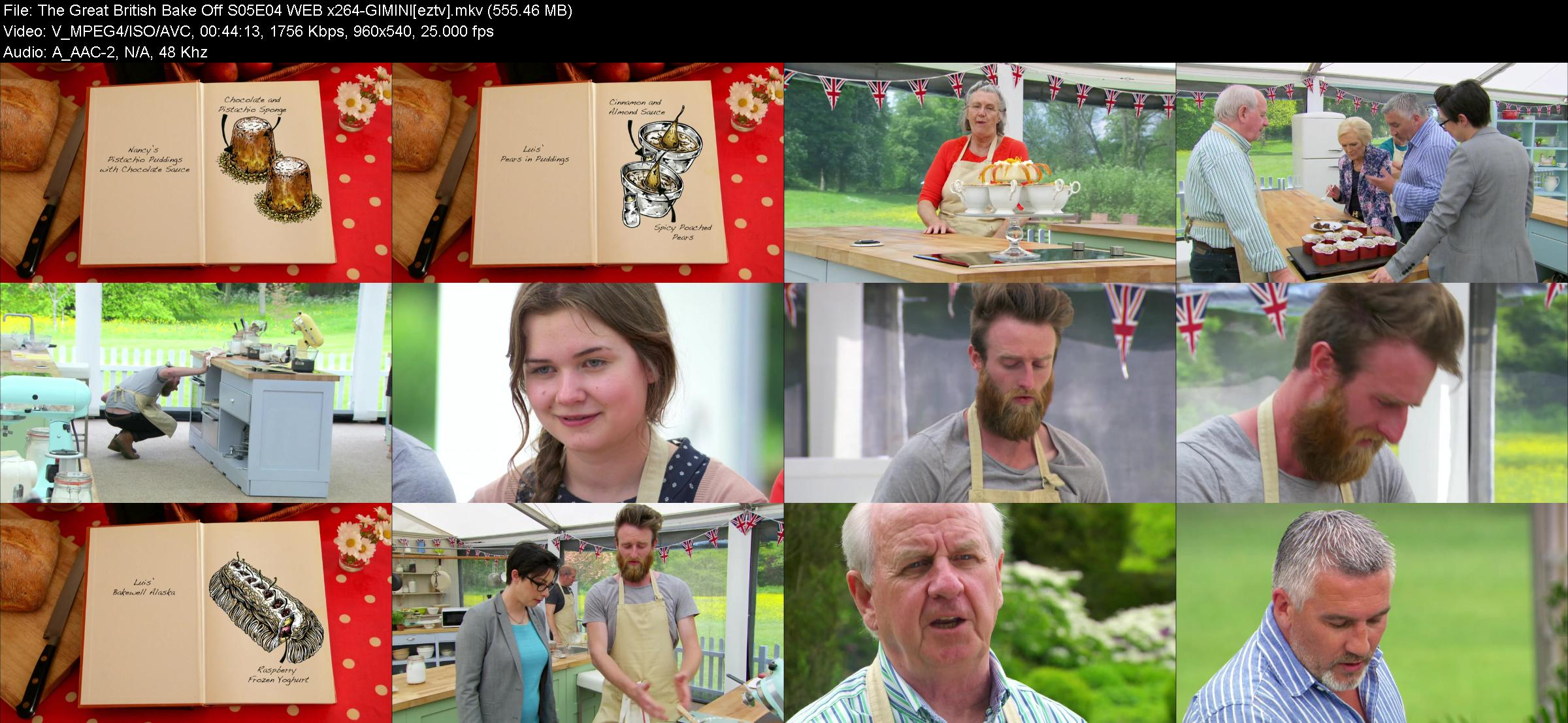 The Great British Bake Off S05E04 WEB x264-GIMINI