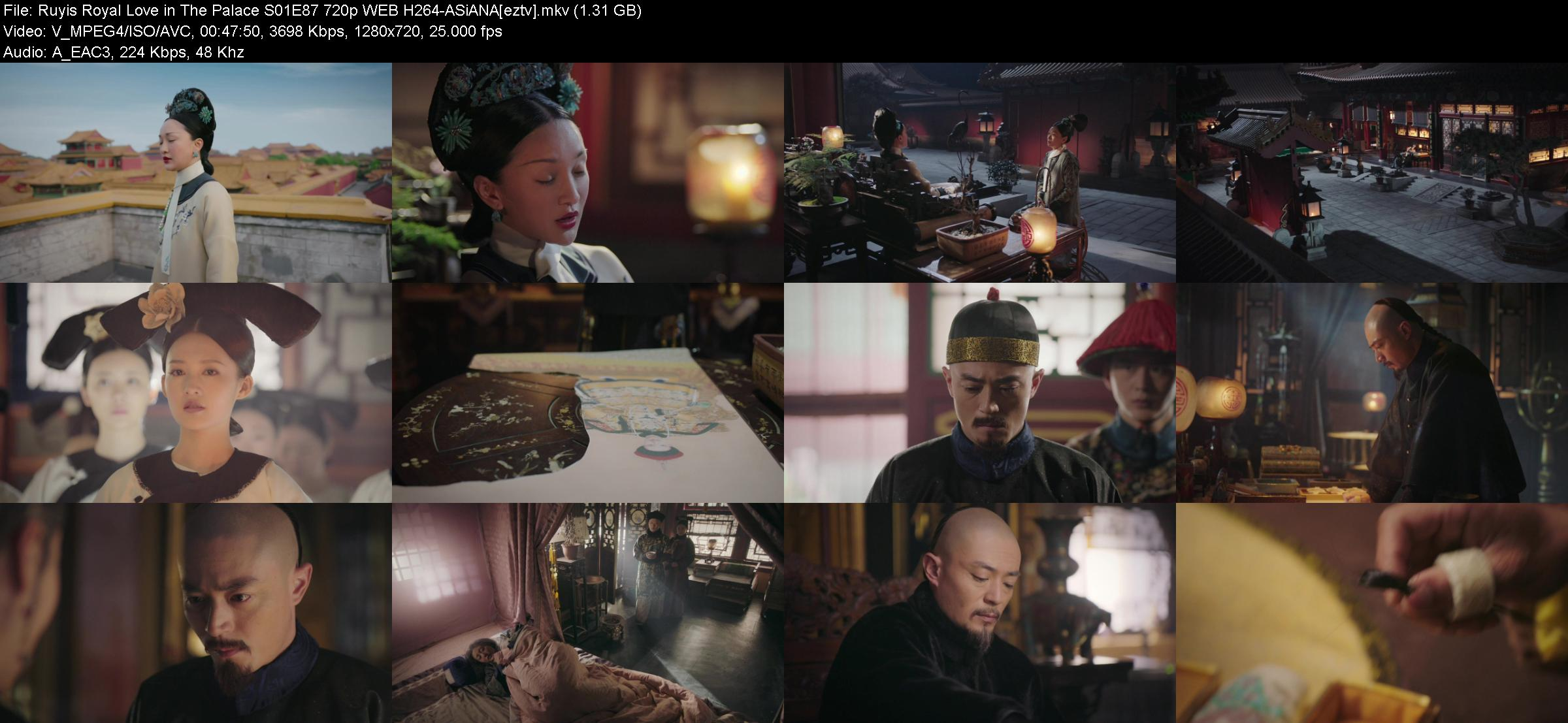 Ruyis Royal Love in The Palace S01E87 720p WEB H264-ASiANA