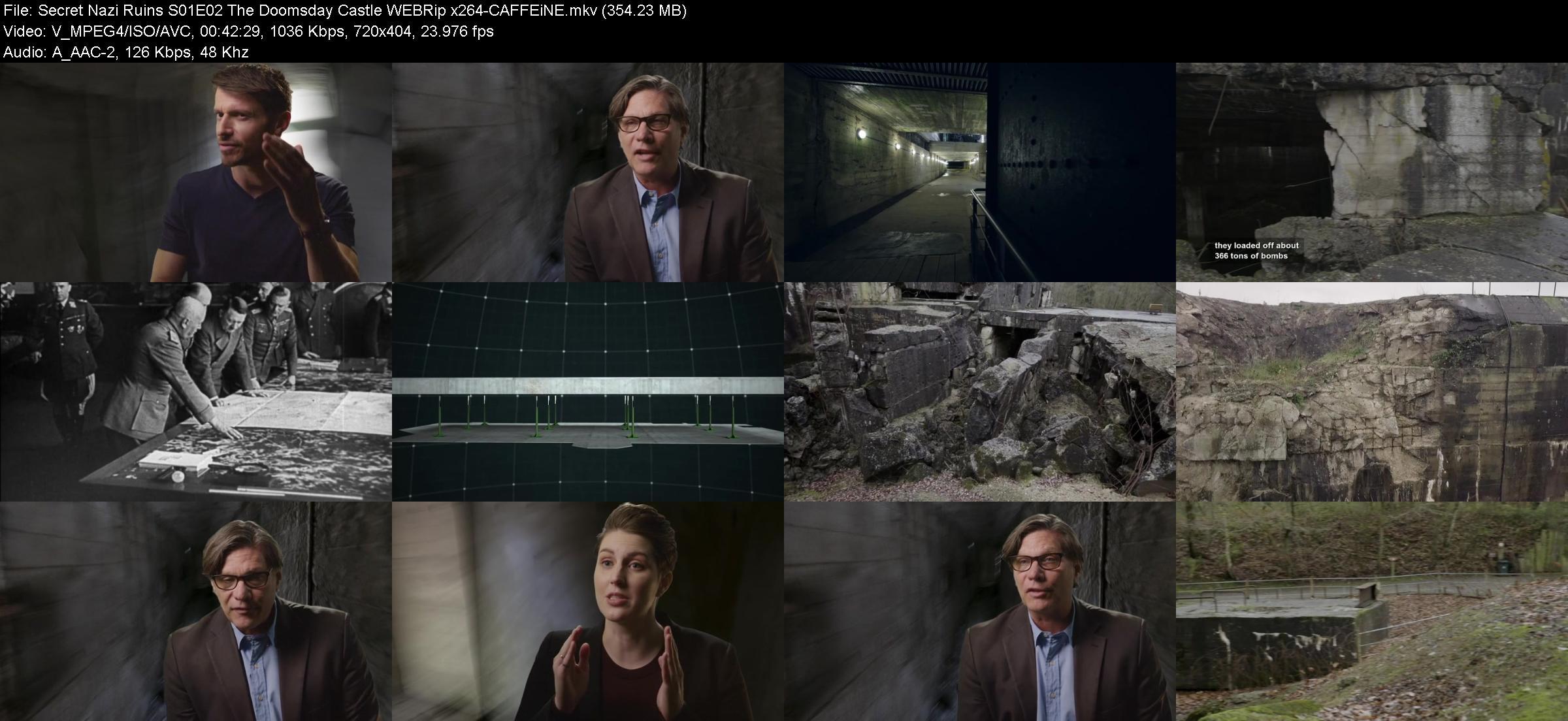 Secret Nazi Ruins S01E02 The Doomsday Castle WEBRip x264-CAFFEiNE