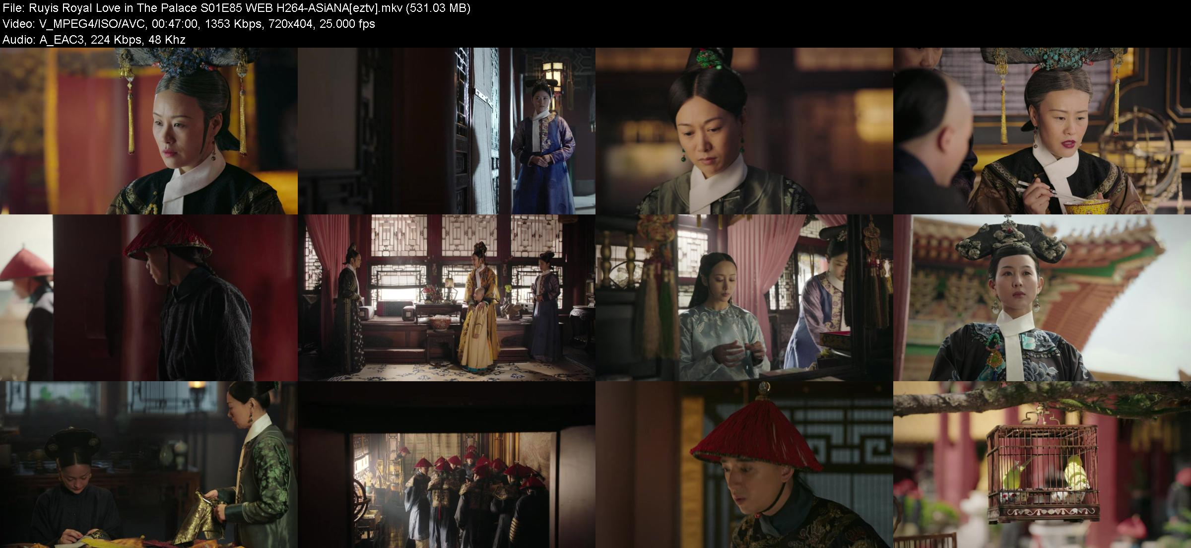 Ruyis Royal Love in The Palace S01E85 WEB H264-ASiANA