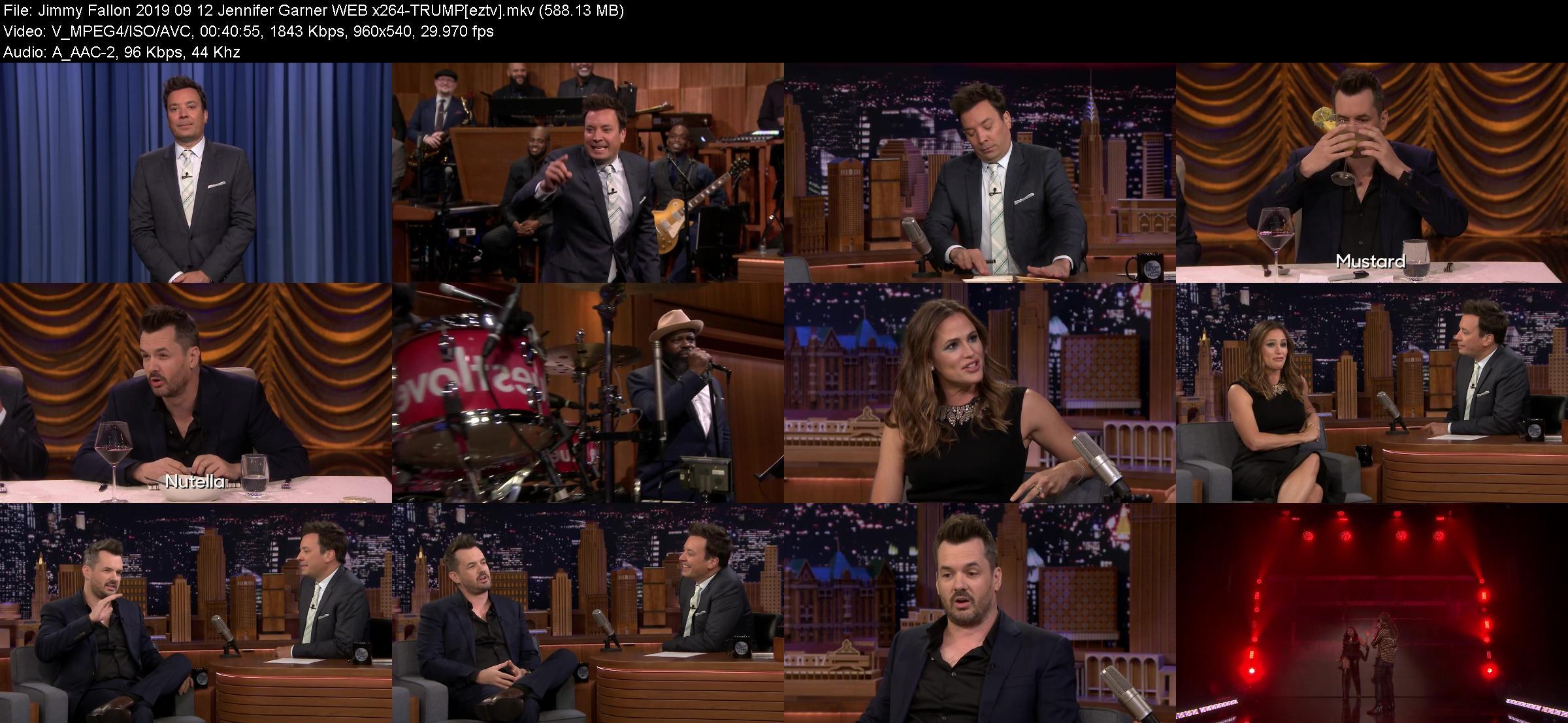 Jimmy Fallon 2019 09 12 Jennifer Garner WEB x264-TRUMP