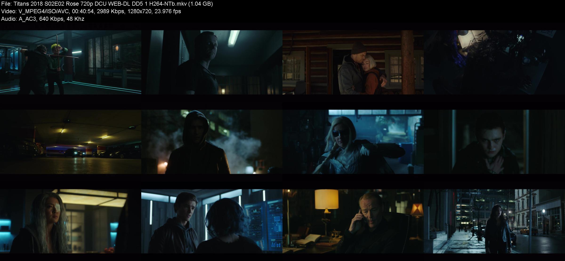 Titans 2018 S02E02 Rose 720p DCU WEB-DL DD5 1 H264-NTb